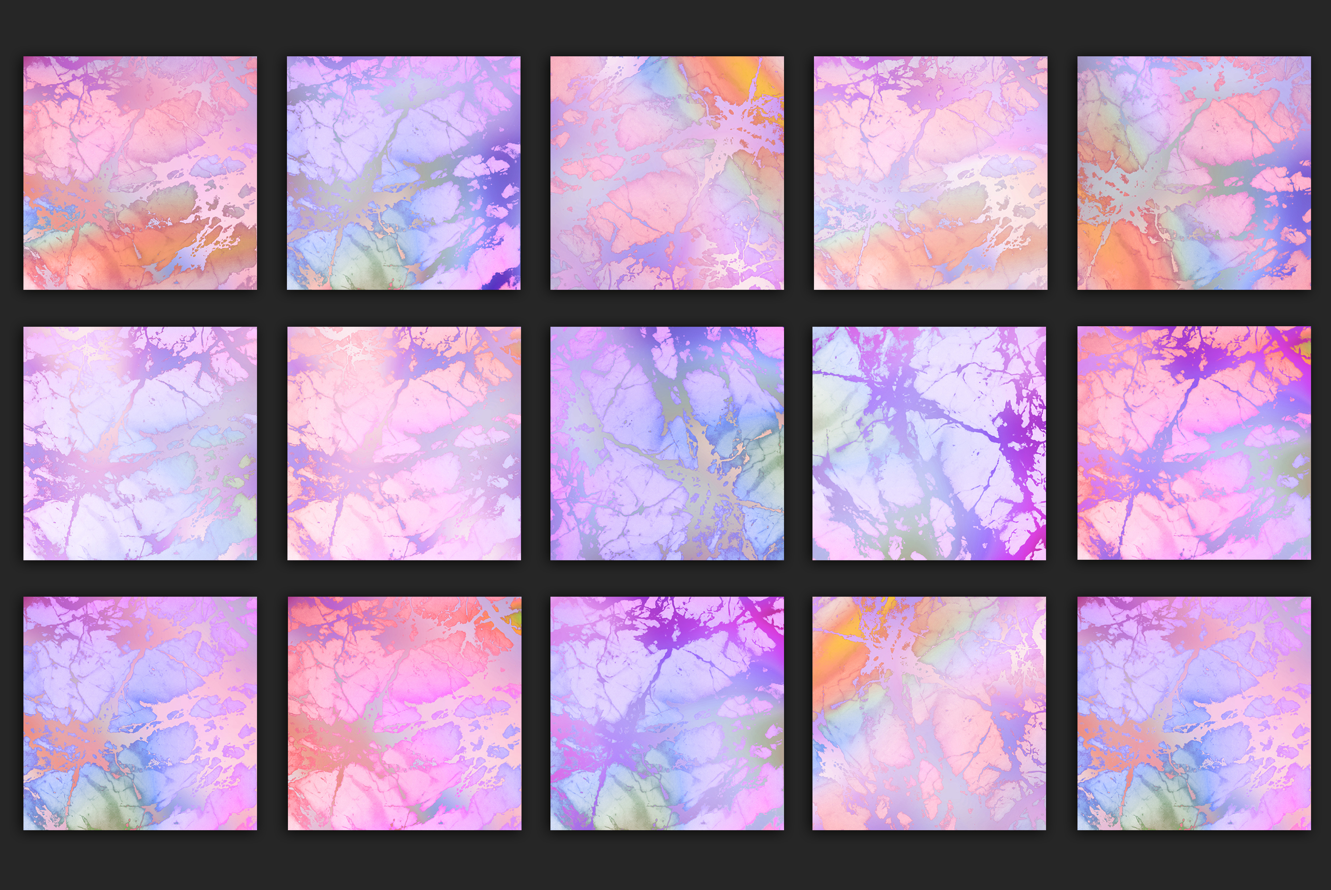 Rose Iridescent Marble Textures example image 2