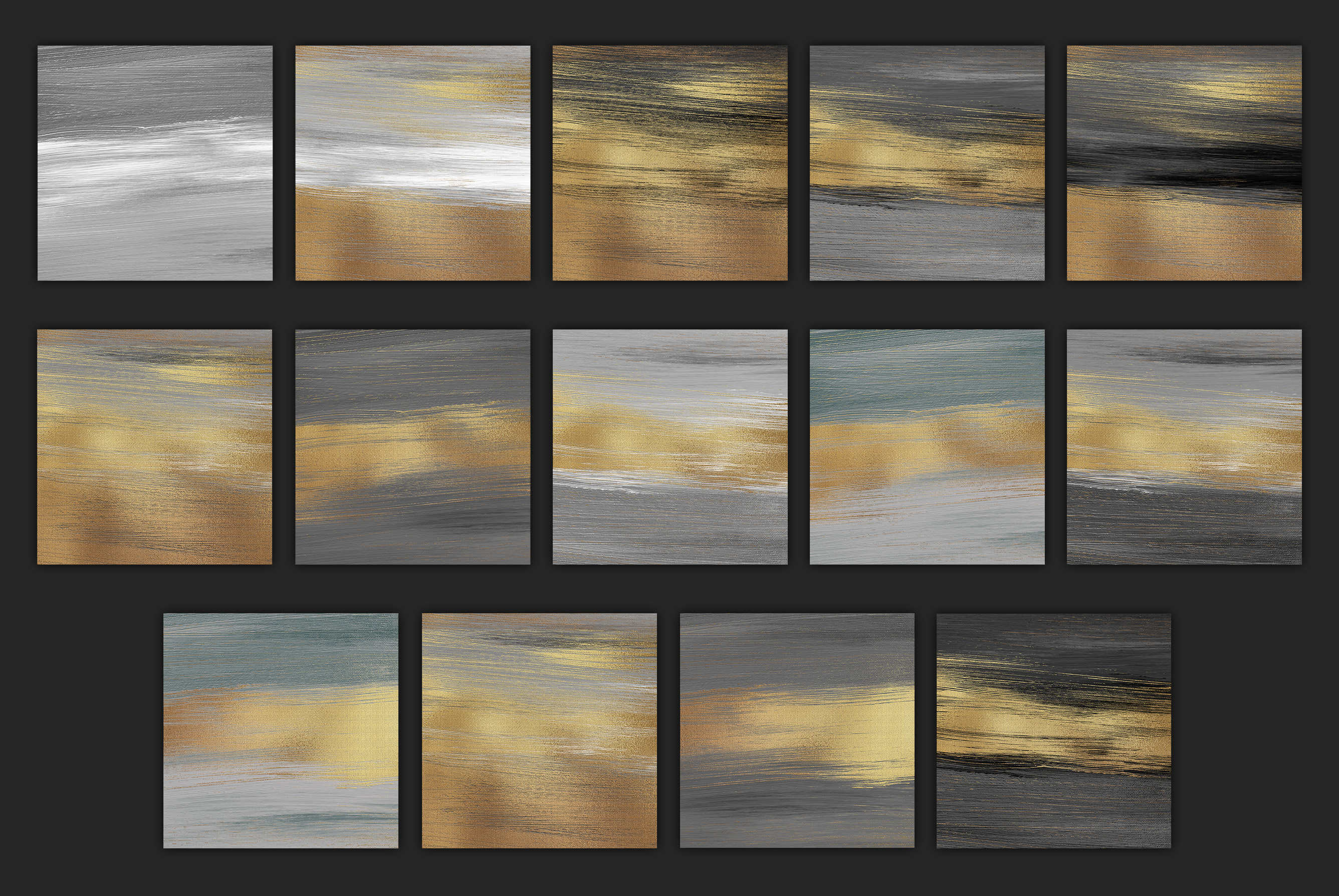 Gold Oil Paint Backgrounds example image 9