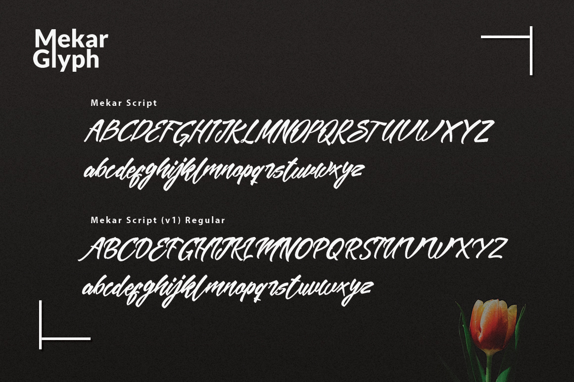 Mekar Script (Update) example image 4