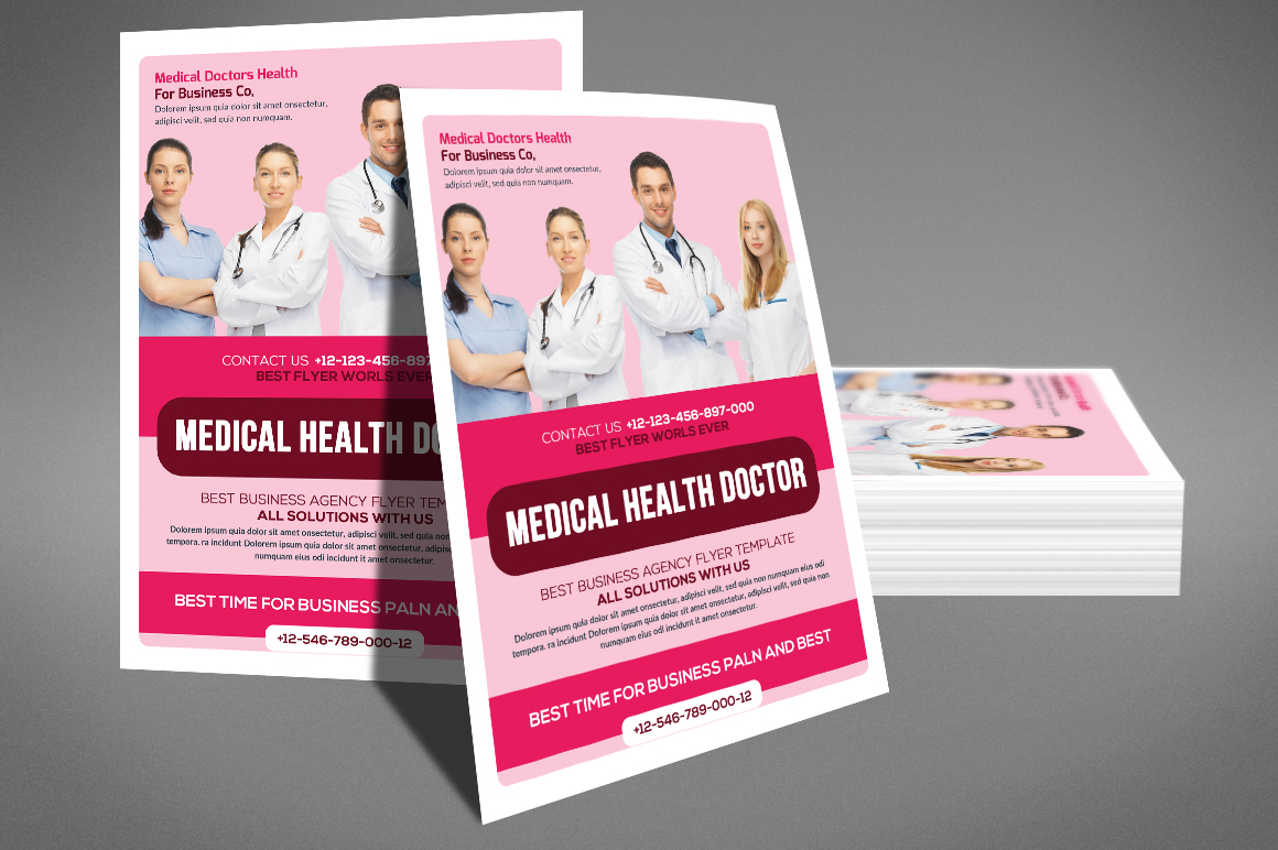 Medical Doctor Flyer example image 4