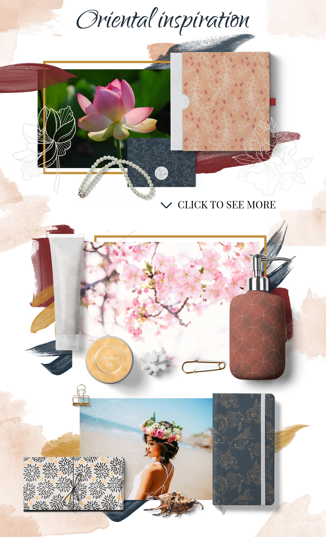 Oriental dreams design set example image 6