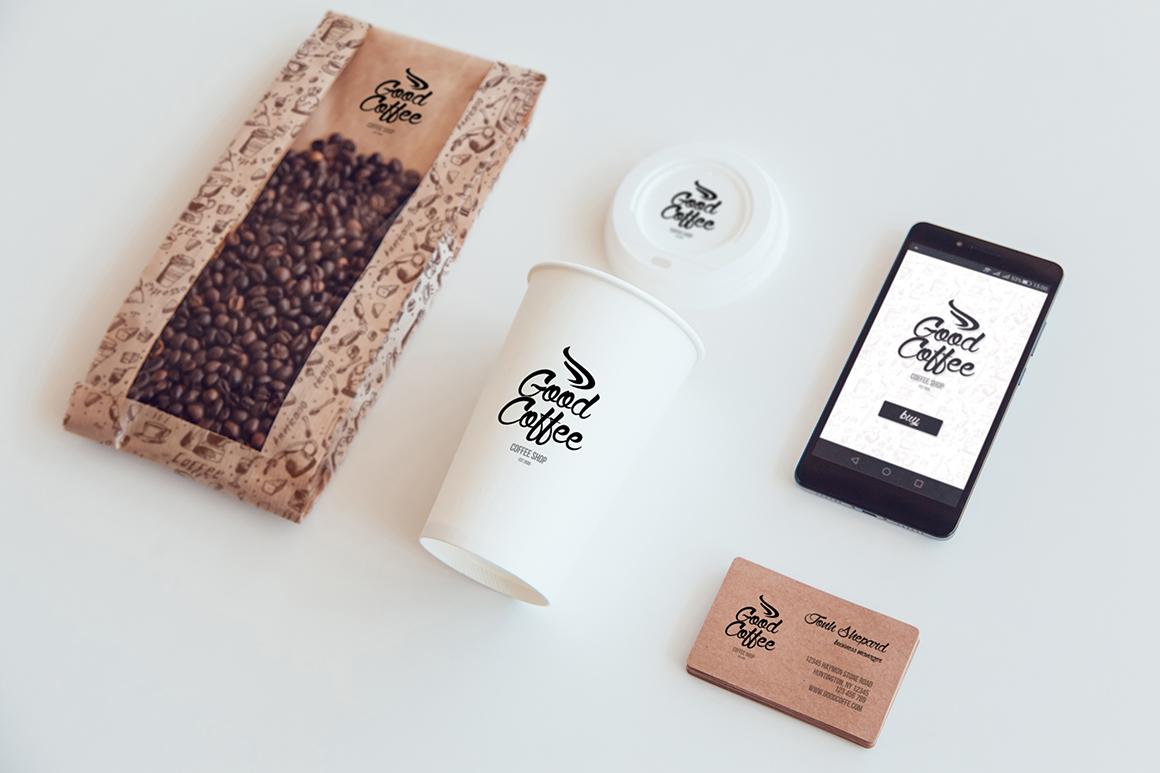 Coffee Branding Mock-up example image 7