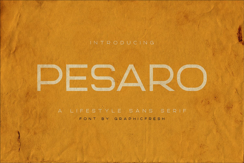 Pesaro | A Lifestyle Sans Serif example image 1