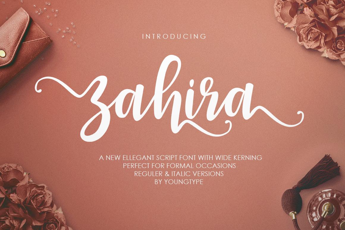 Zahira Script example image 1