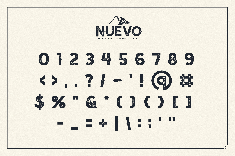 Nuevo - Vintage Adventure Font example image 6