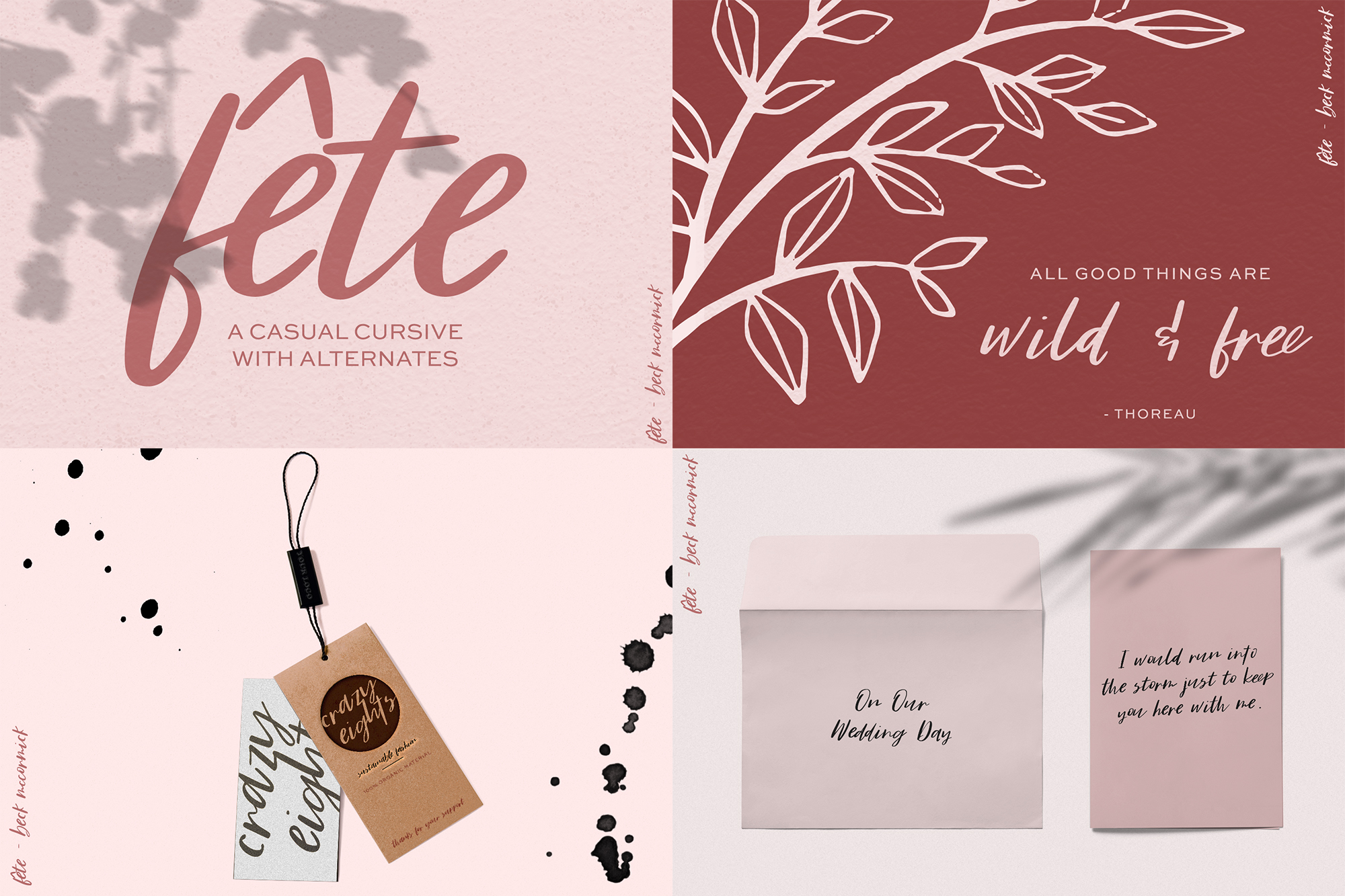 The Cute Crafter's Font Bundle example image 4