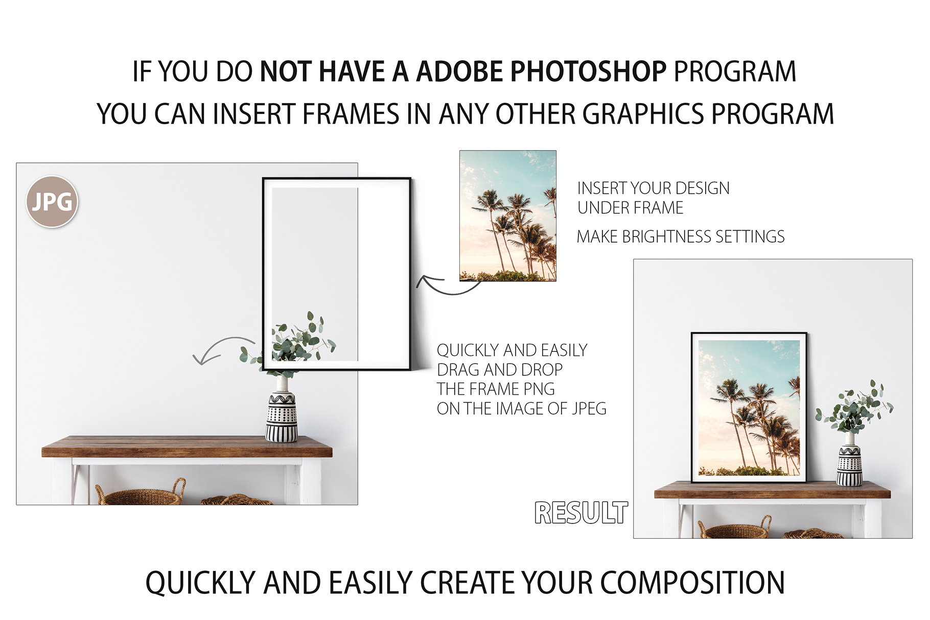 Frames & Walls Coastal Mockups Bundle example image 27