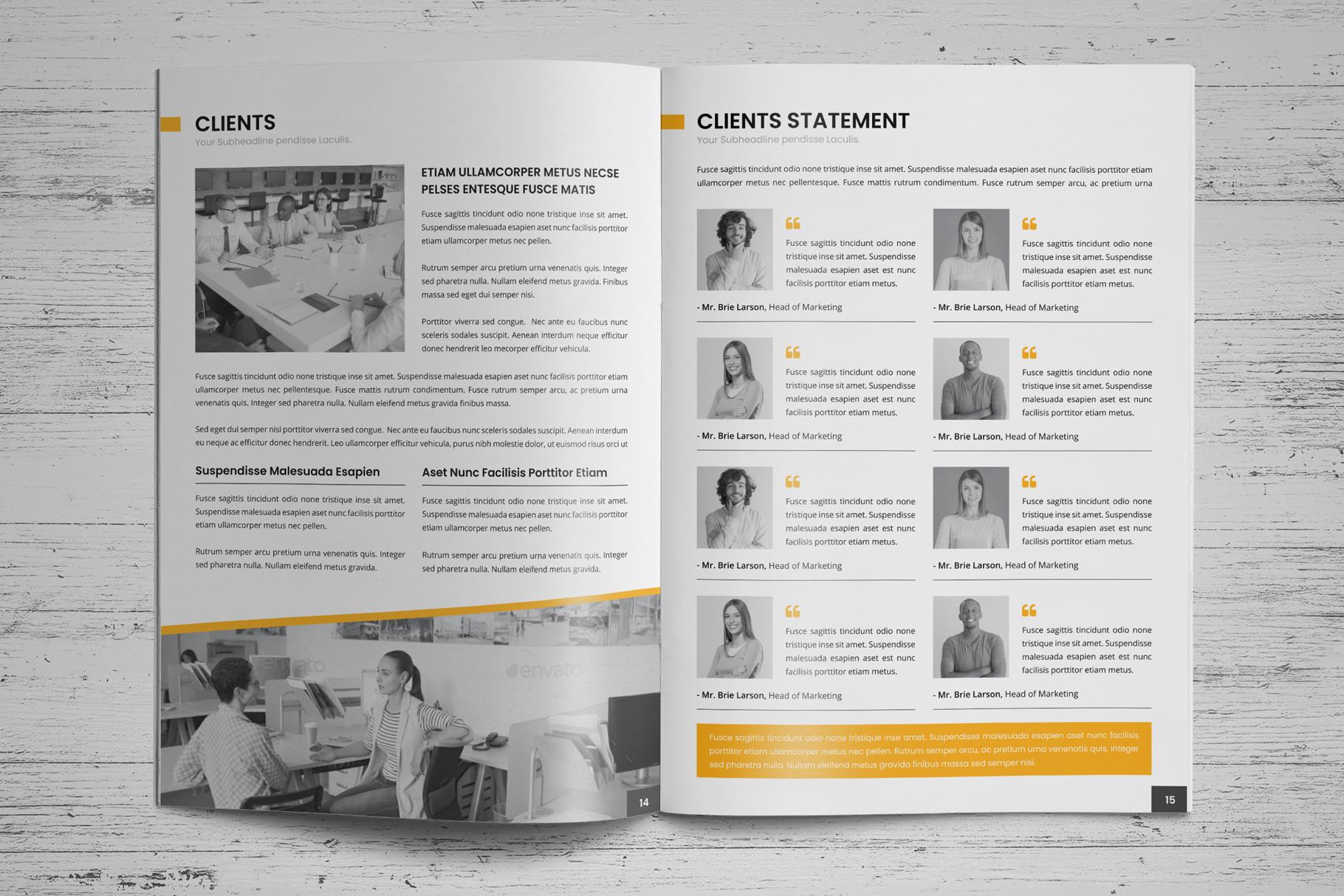 Company Profile Brochure v7 example image 10