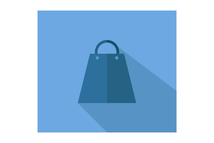 Shopping bag icon example image 1