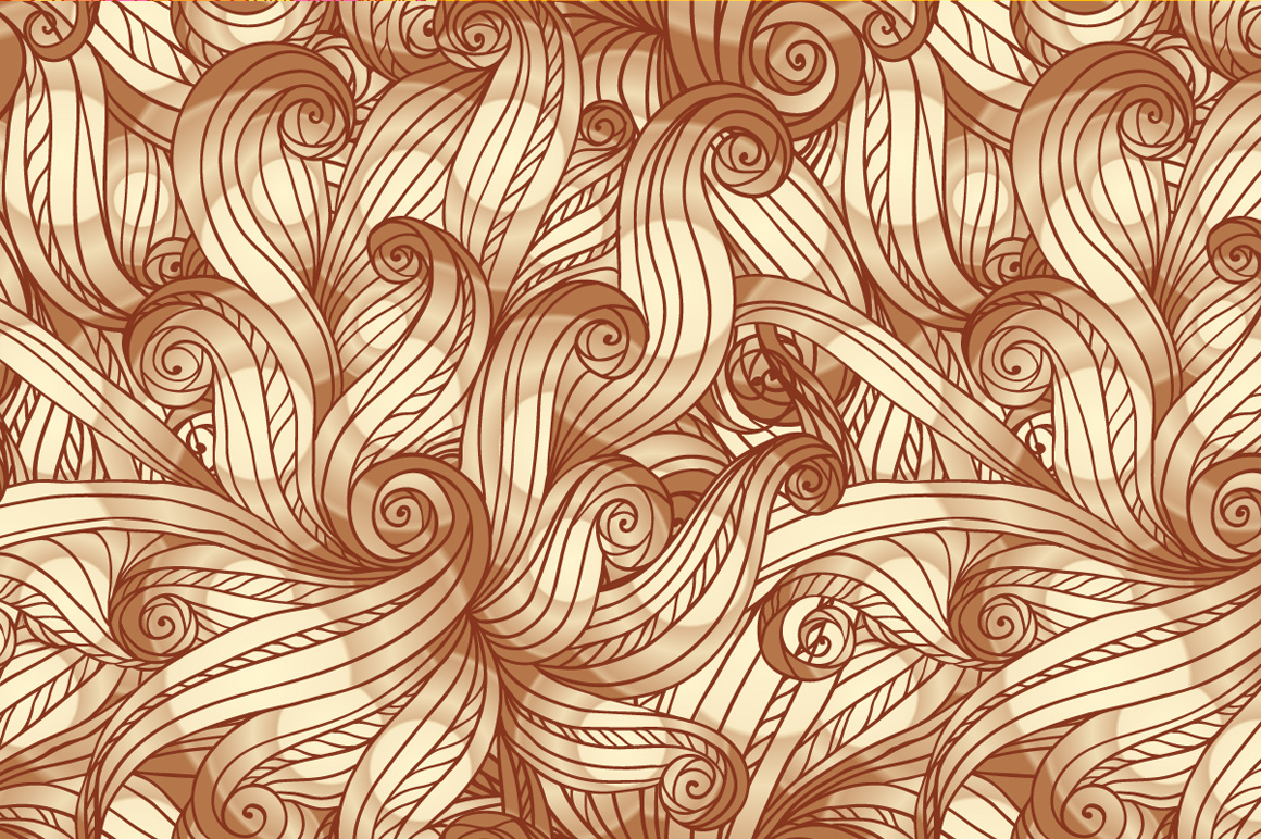 24 hand-drawn seamless patterns example image 4