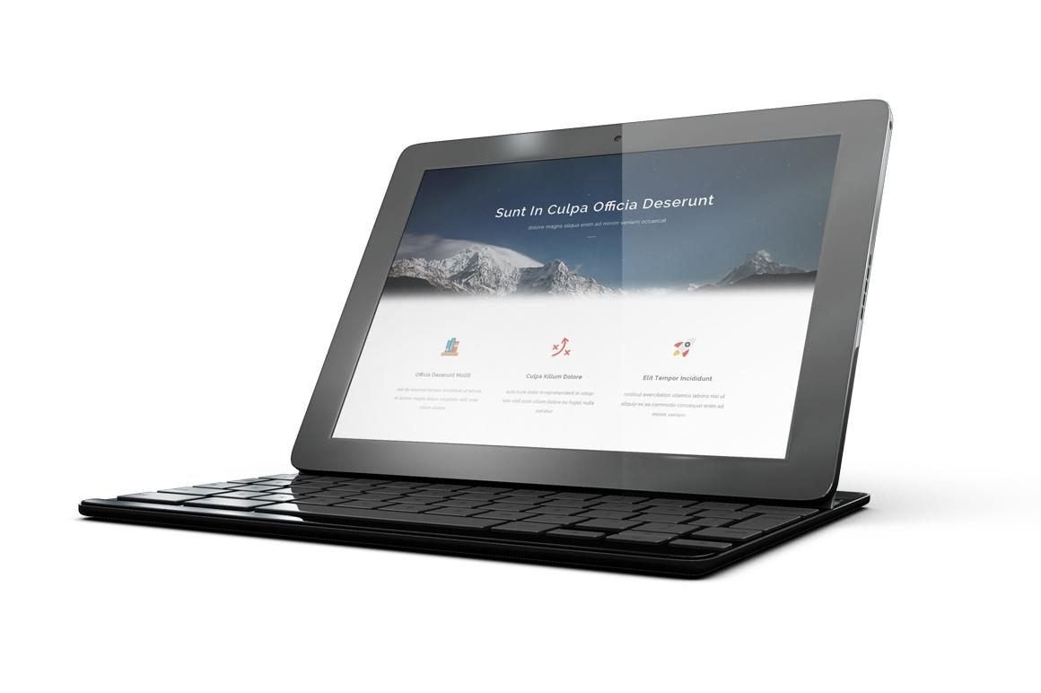 Google Pixel C Tablet Mockup example image 3