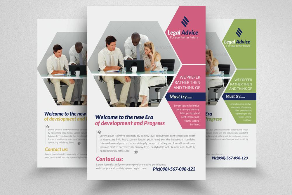 6 Multi Use Business Flyers Bundle example image 7
