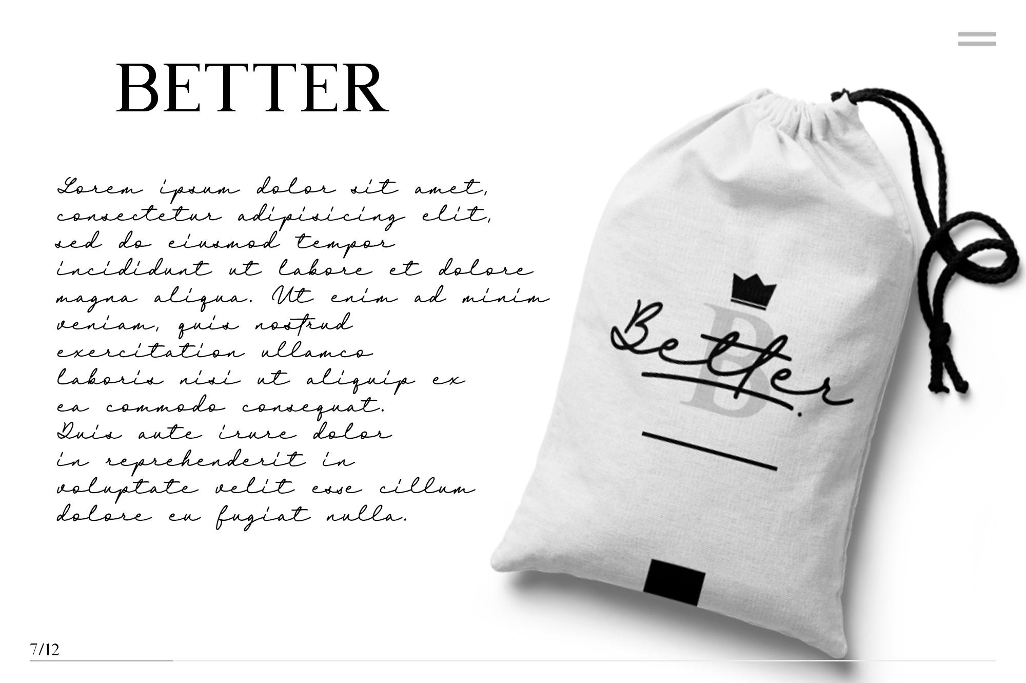 Britania Letter Signature Script example image 6