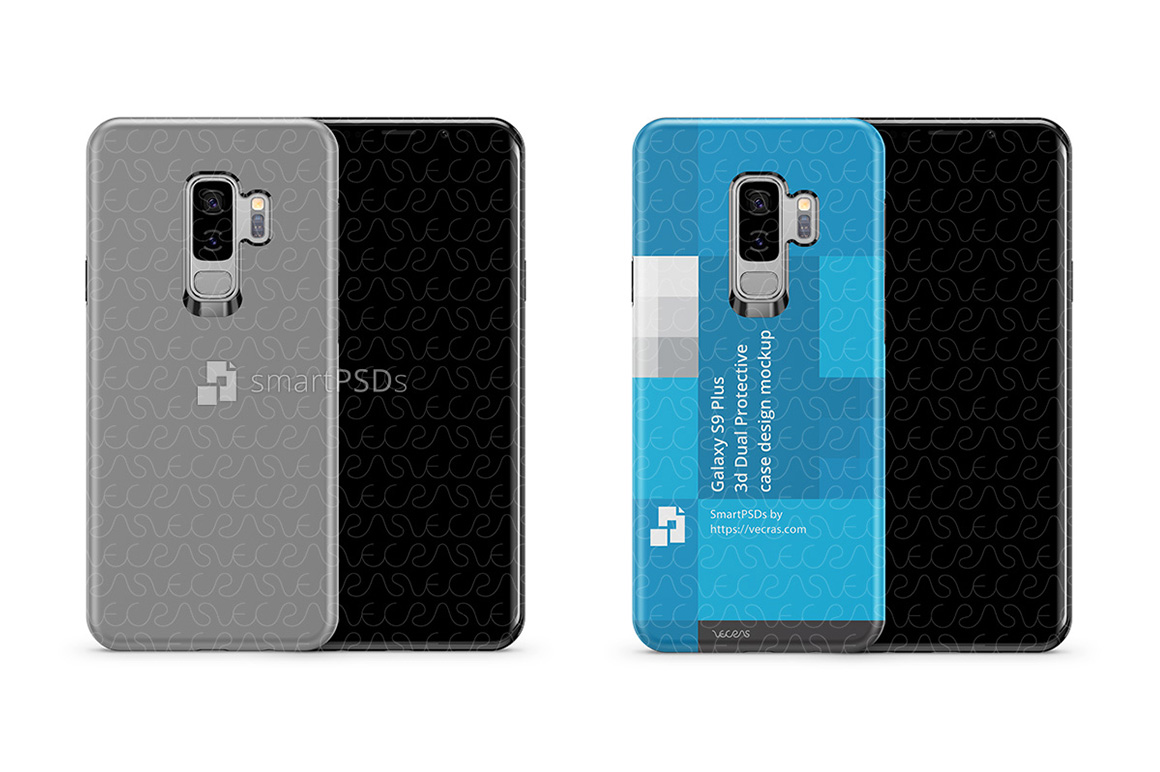 Samsung Galaxy S9 Plus 3d Dual Protective TPU Cover Design example image 2