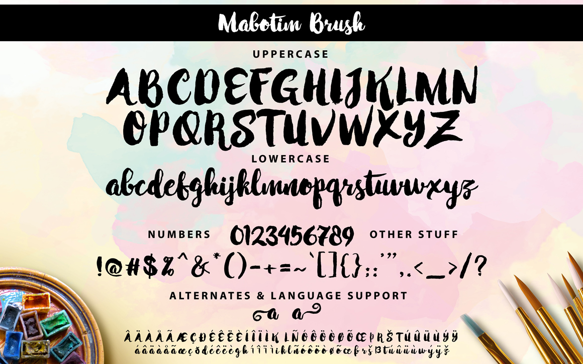 Mabotim Brush example image 5