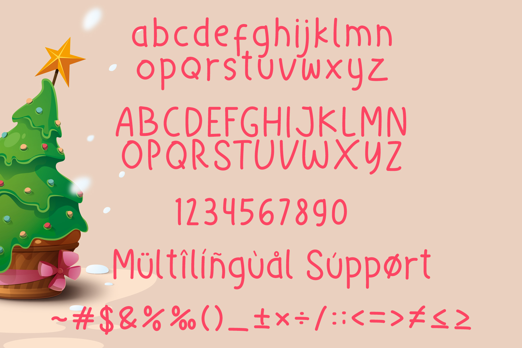 Little Christmas - Cheerful Holiday Font example image 6