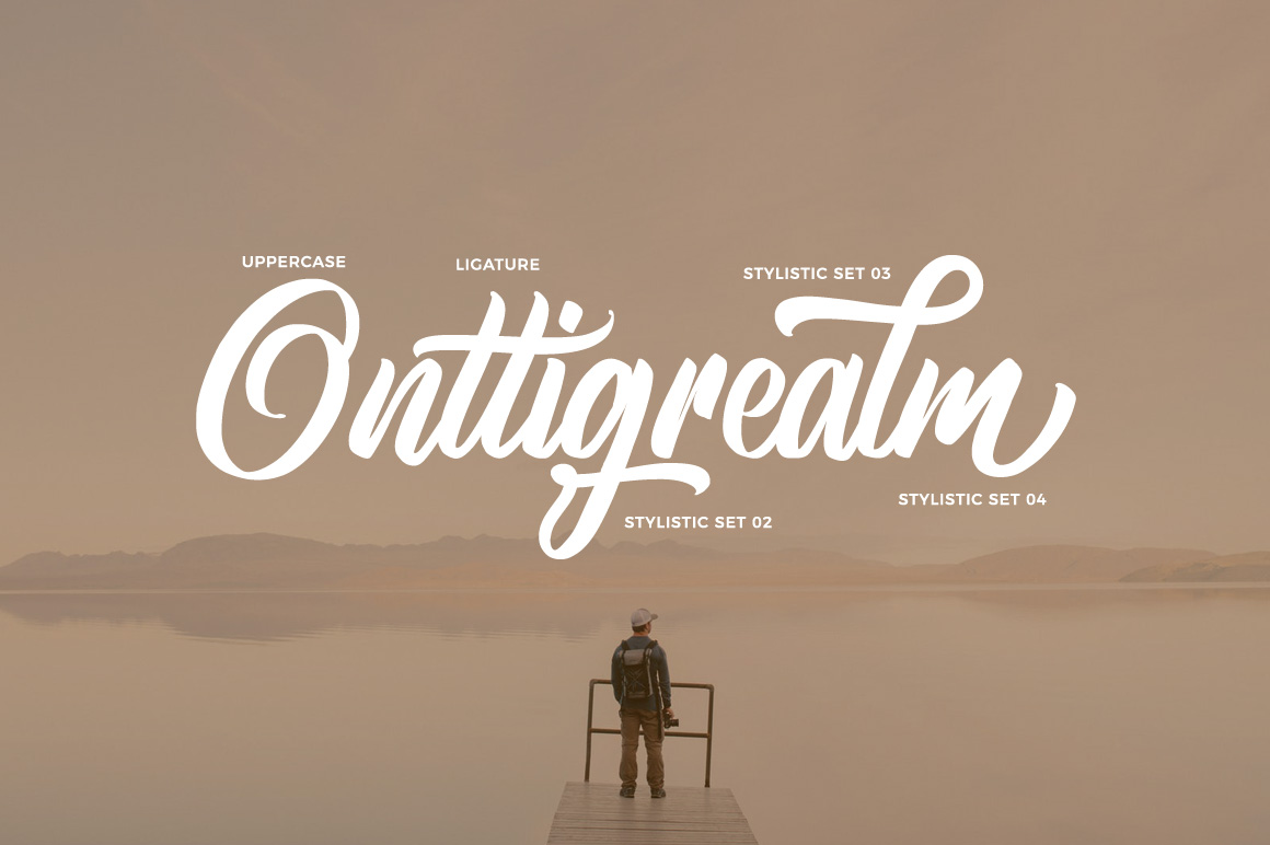 Brightsome - Script Font example image 3