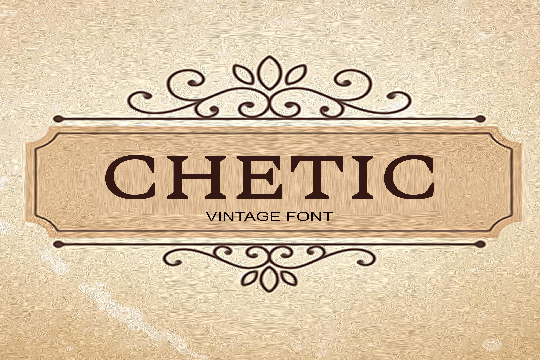 150 Premium Vintage Fonts example image 6