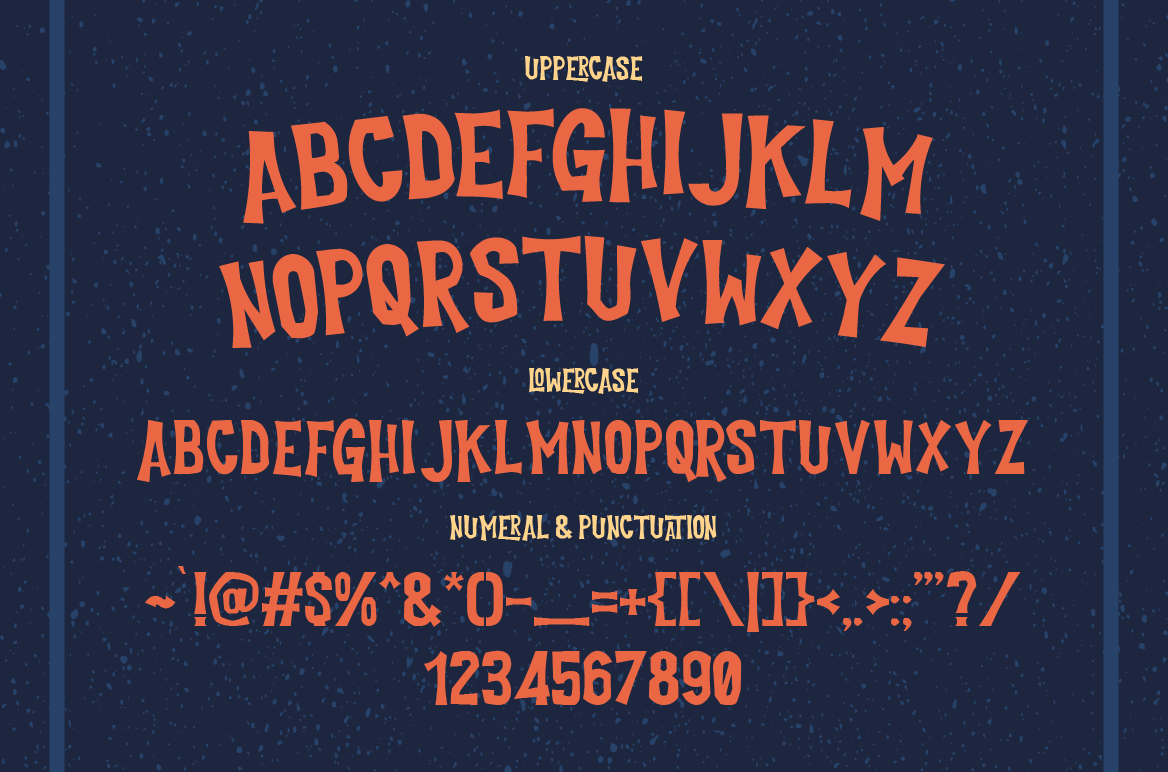 Cutlass Typeface example image 2