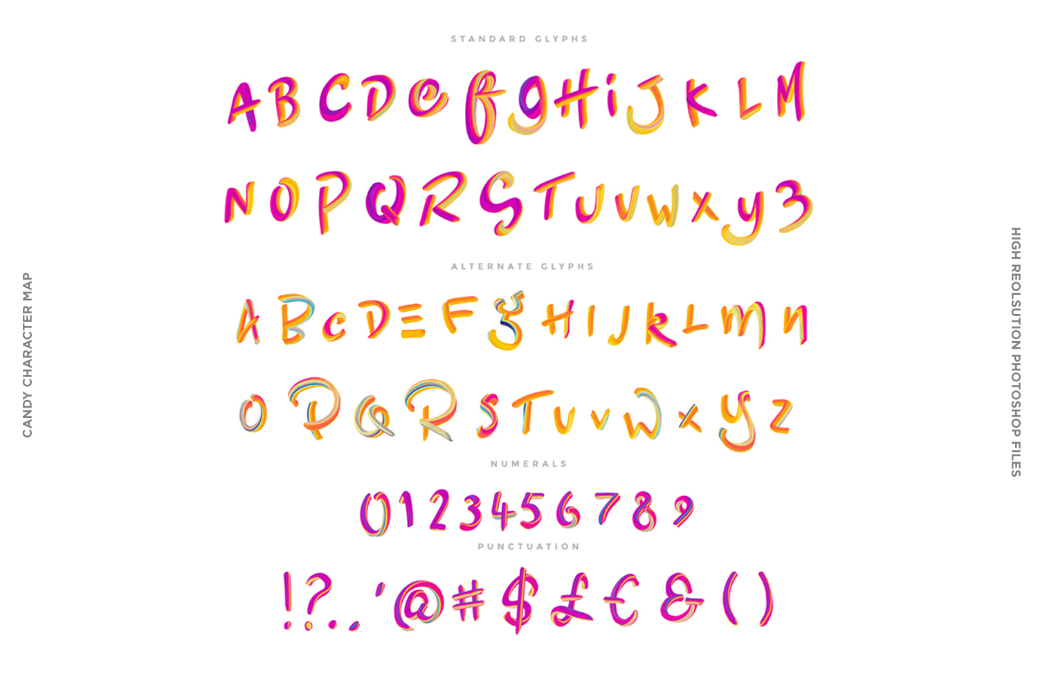 Candy Colour Font example image 9