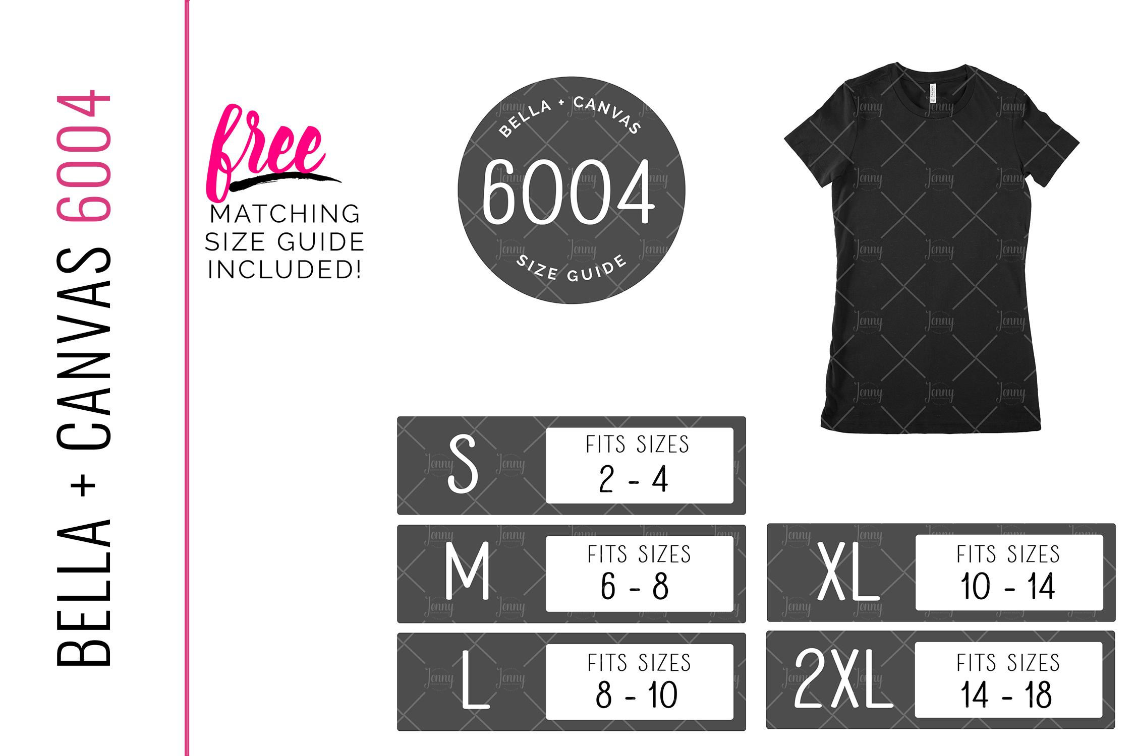 Bella Canvas 6004 Unisex Mockup Bundle, Womens T-Shirt example image 2
