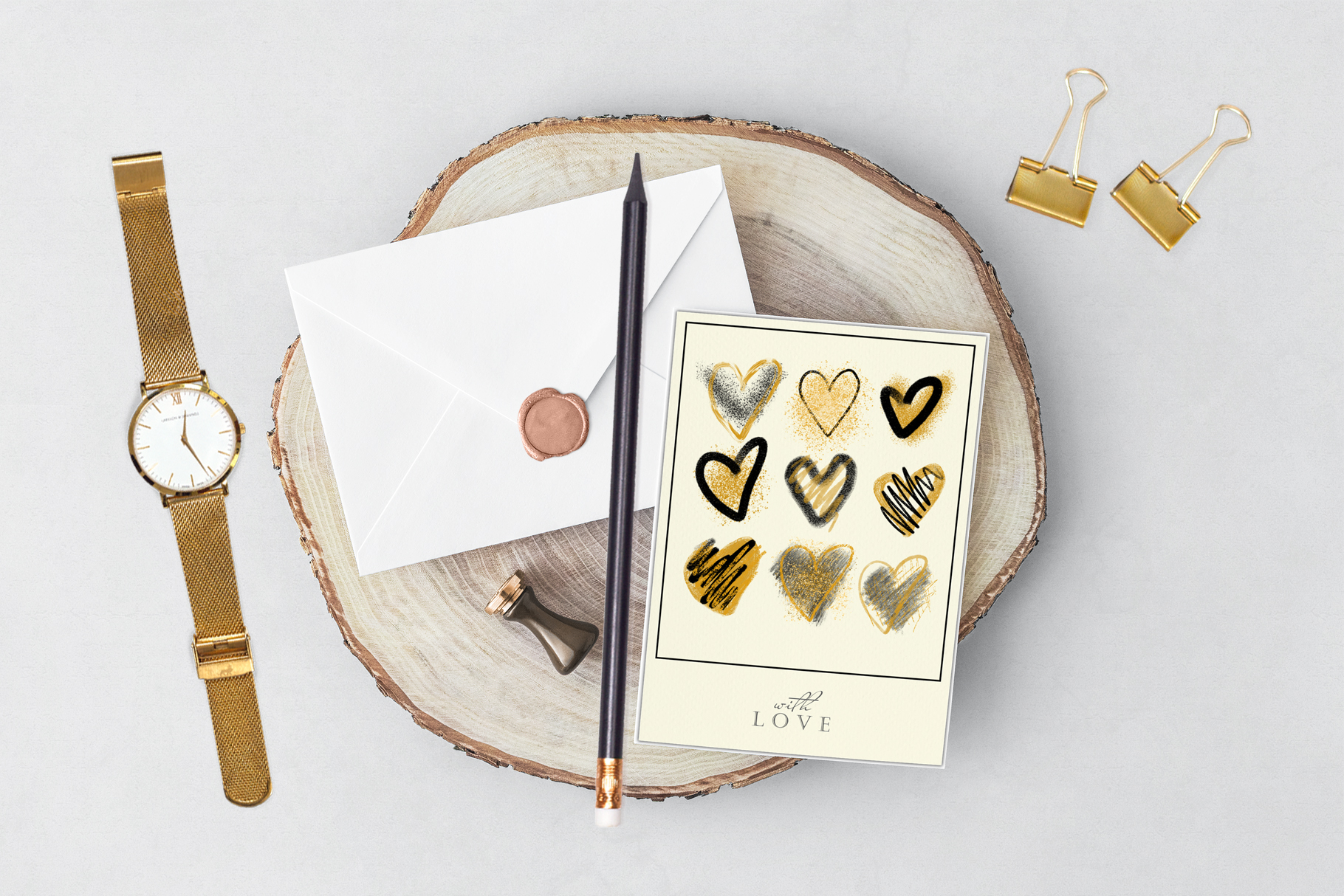 Stylish hearts example image 6