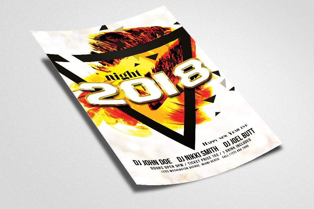 New Year EVE Flyer example image 2