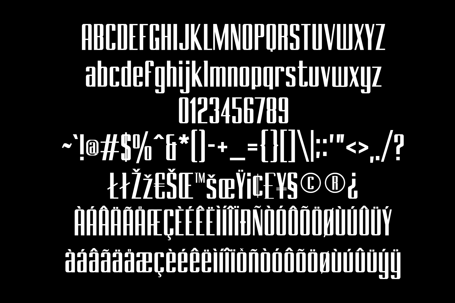 BRANCHE - Display Font example image 11