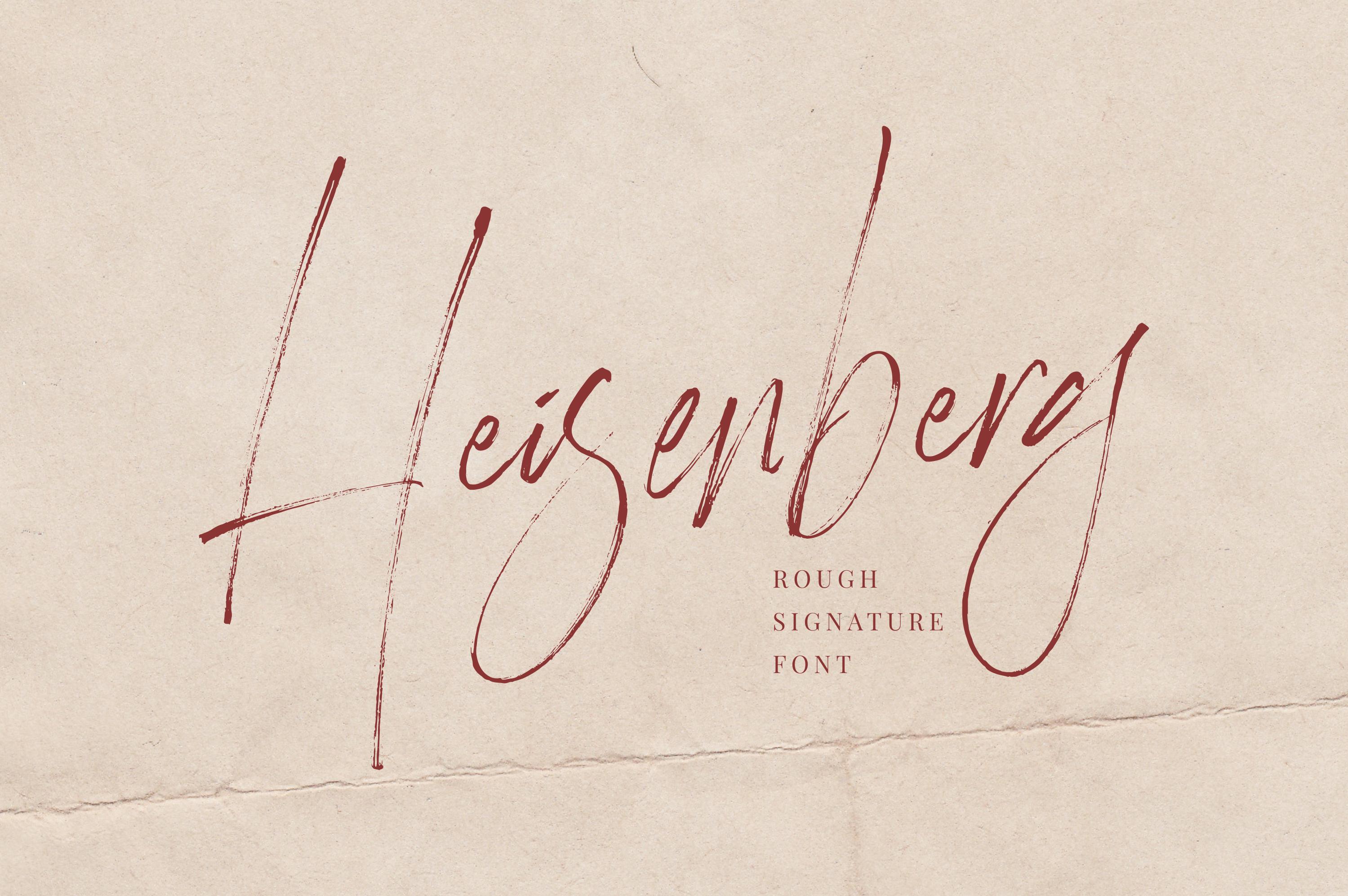 Heisenberg example image 1