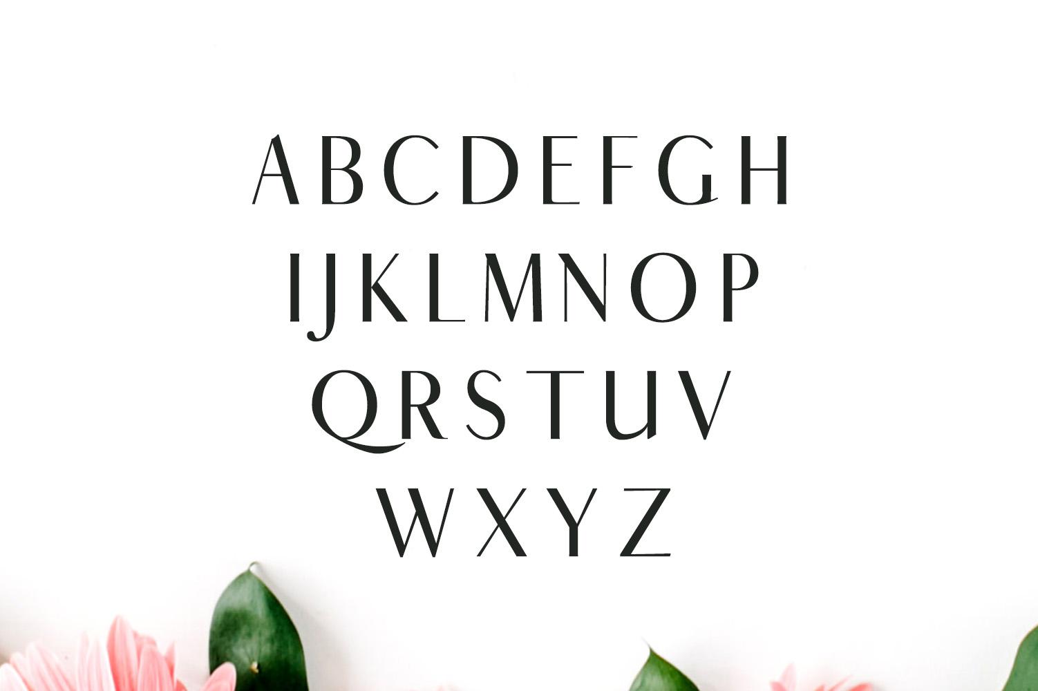 Cordaro Sans Serif Typeface example image 2