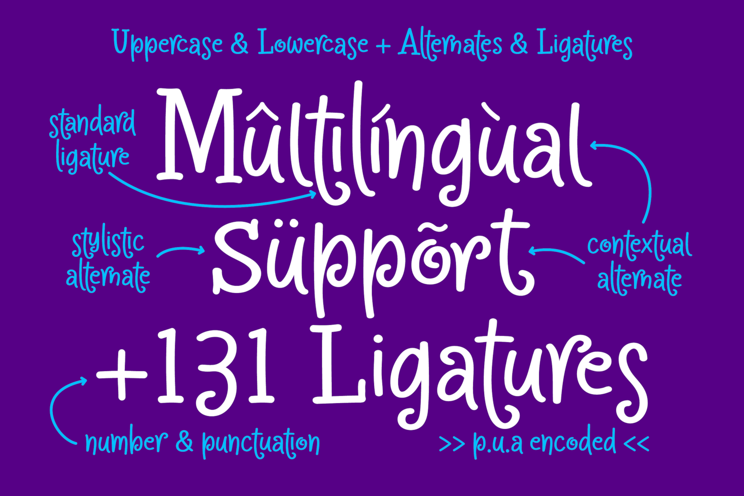 Crapty - a Playful Font with Cute Alternates & Ligatures example image 8