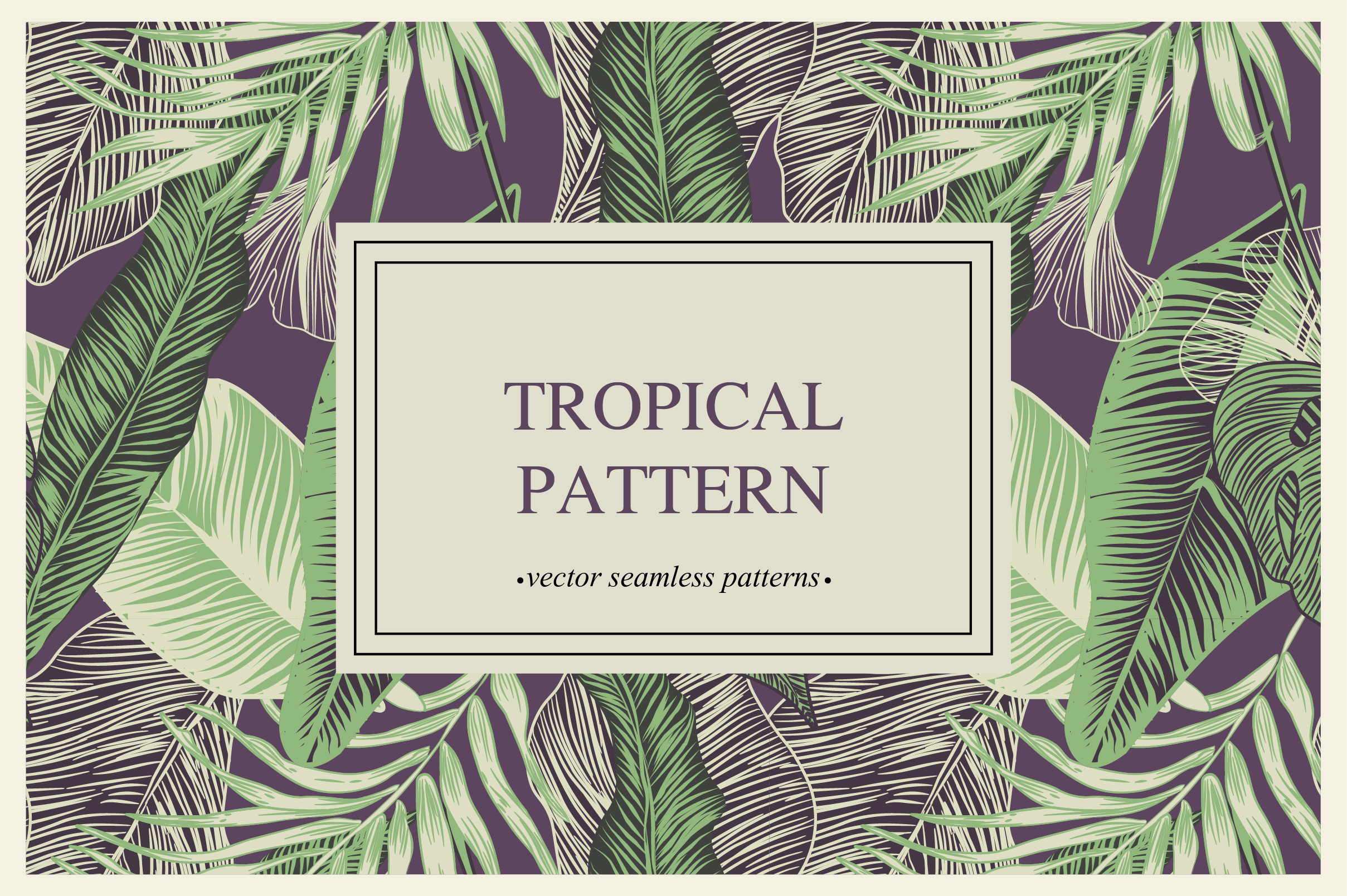 Tropical pattern example image 8