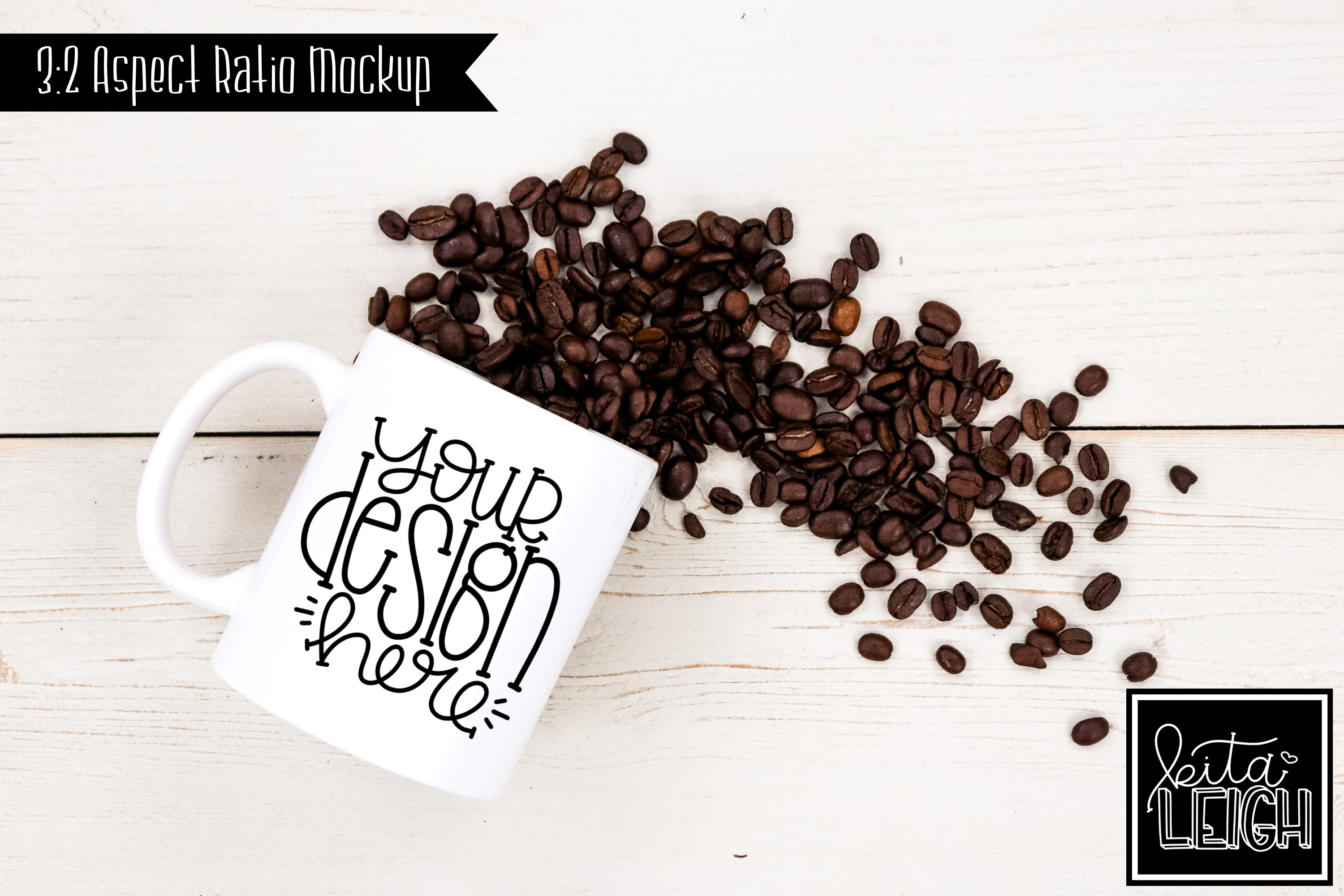 11 oz Mug Mockup with Chocolate, Coffee, Tea, and Mallows example image 4