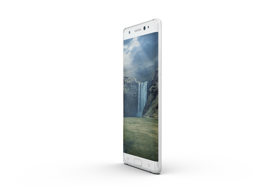 Samsung Galaxy Note 7 Mockup example image 4