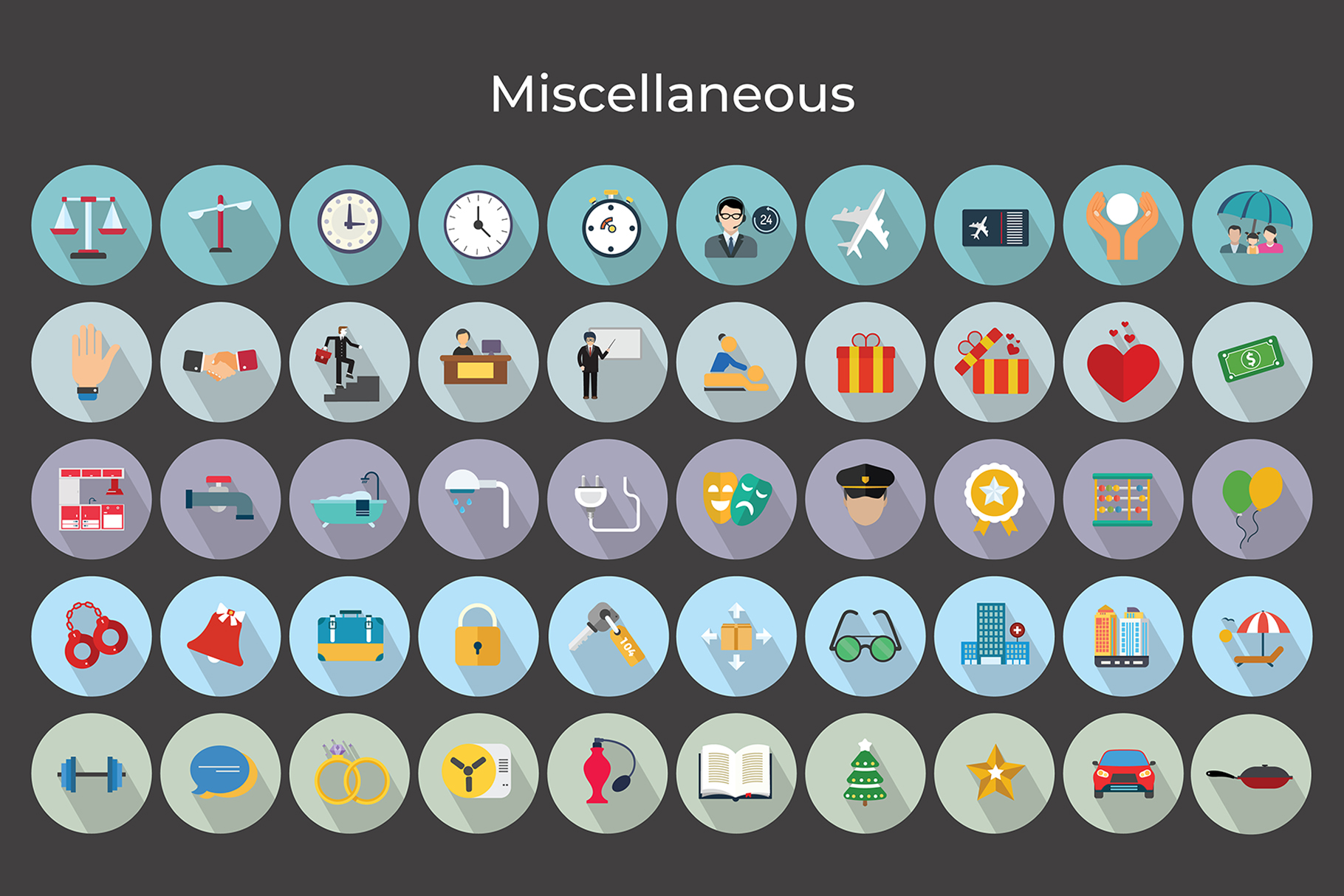 Miscellaneous Vector Icons V2 example image 5