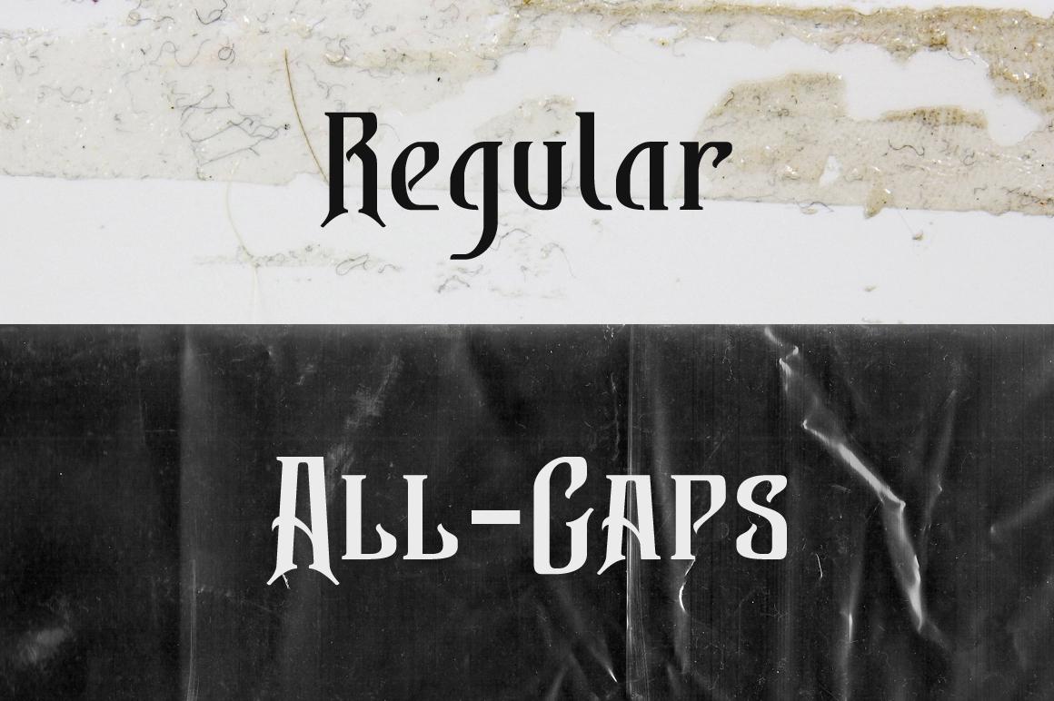Bekelakar Typeface example image 2