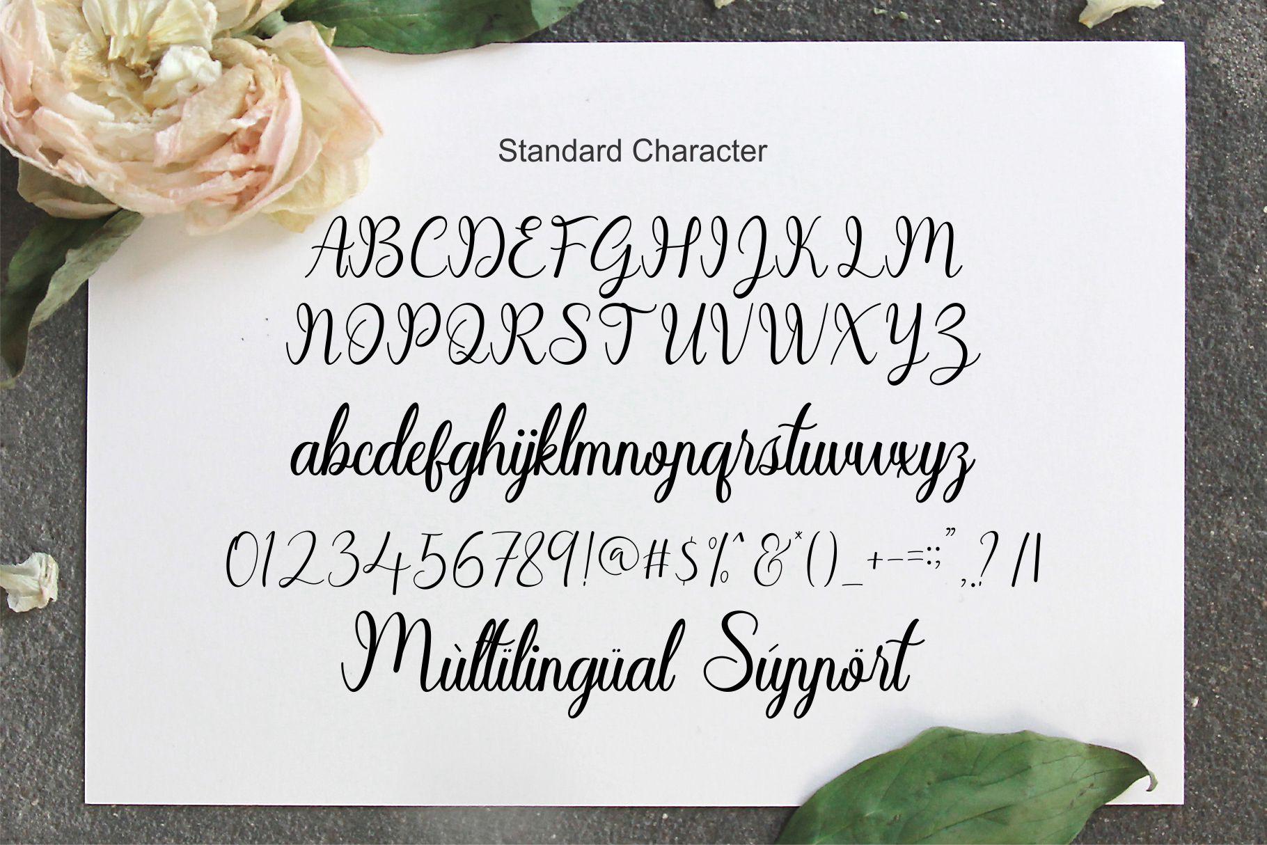 Sayidah Lovely Script example image 11