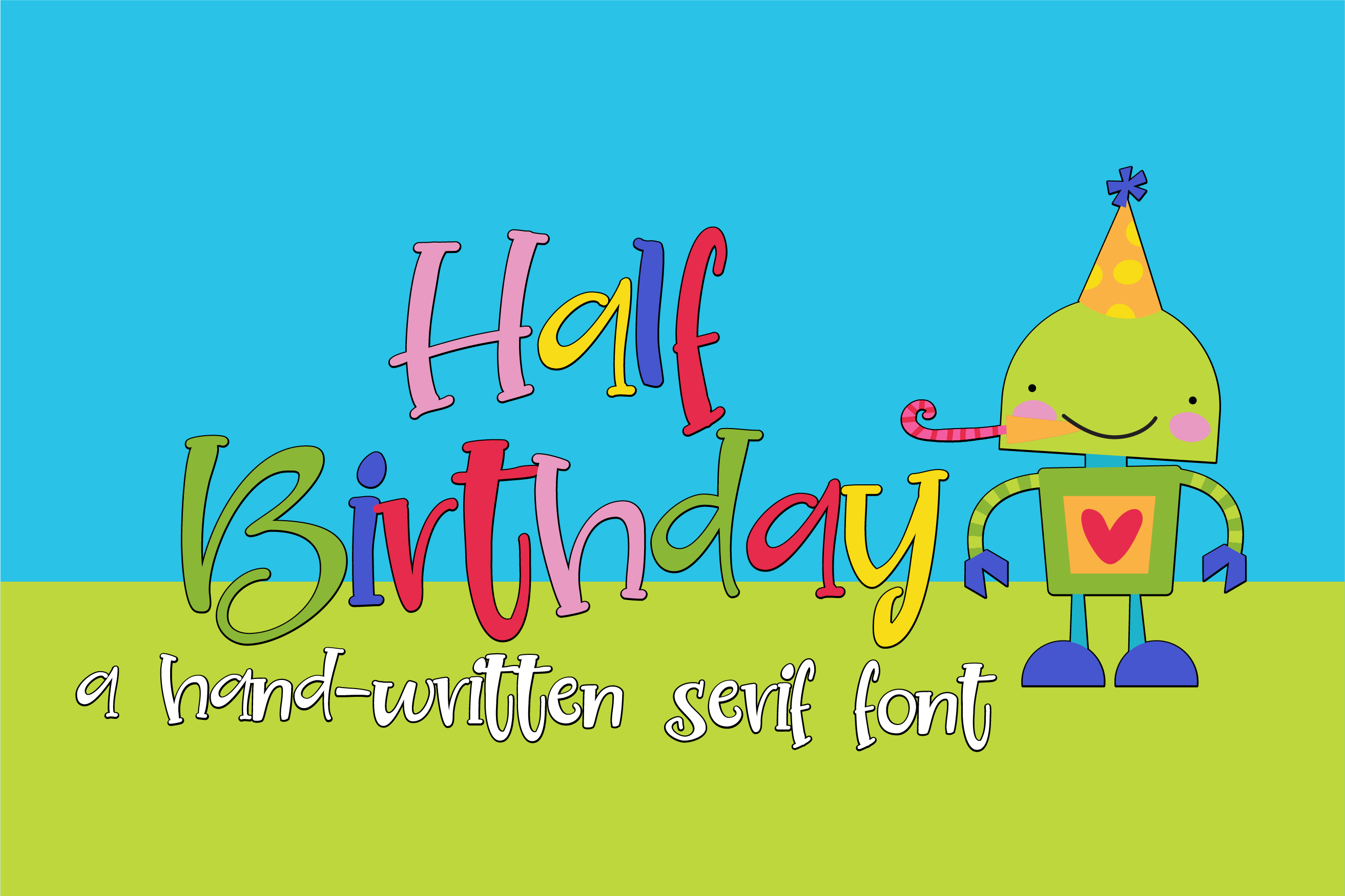 ZP Half Birthday example image 1