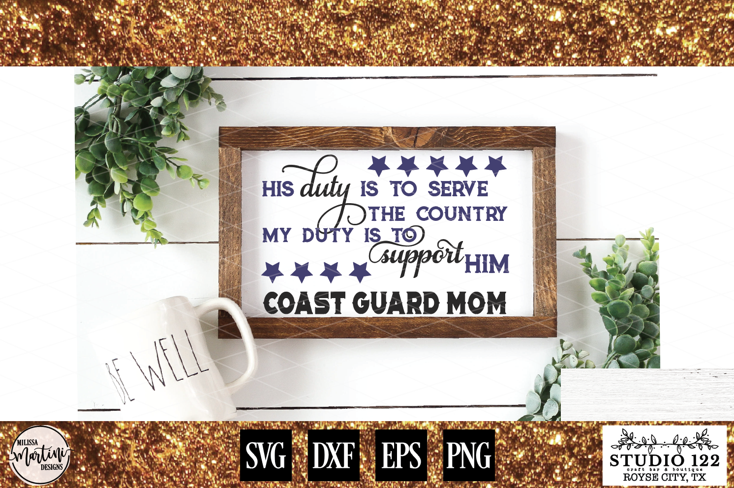 COAST GUARD MOM example image 1
