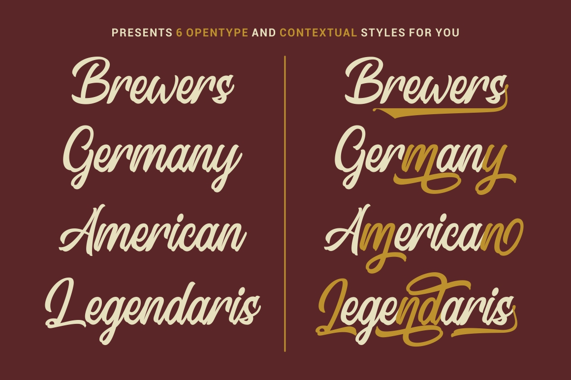 Signation - Handlettering Font example image 4
