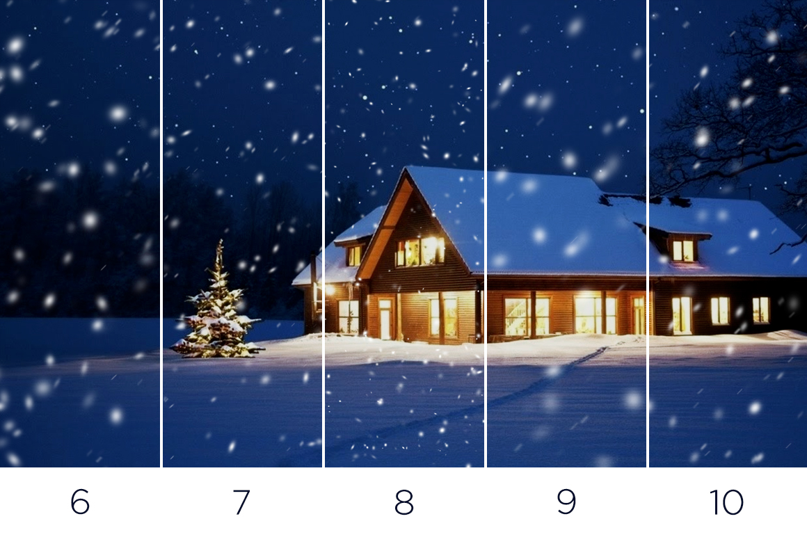 30 Real Snow Overlays example image 5