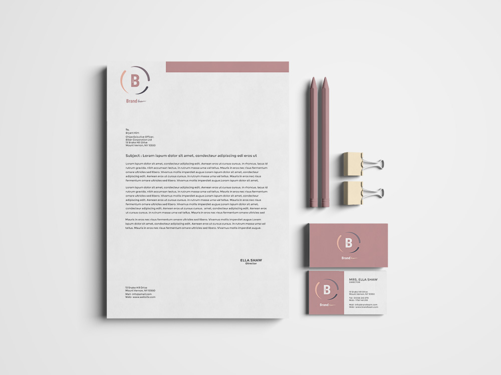 Corporate Identity Pack example image 13