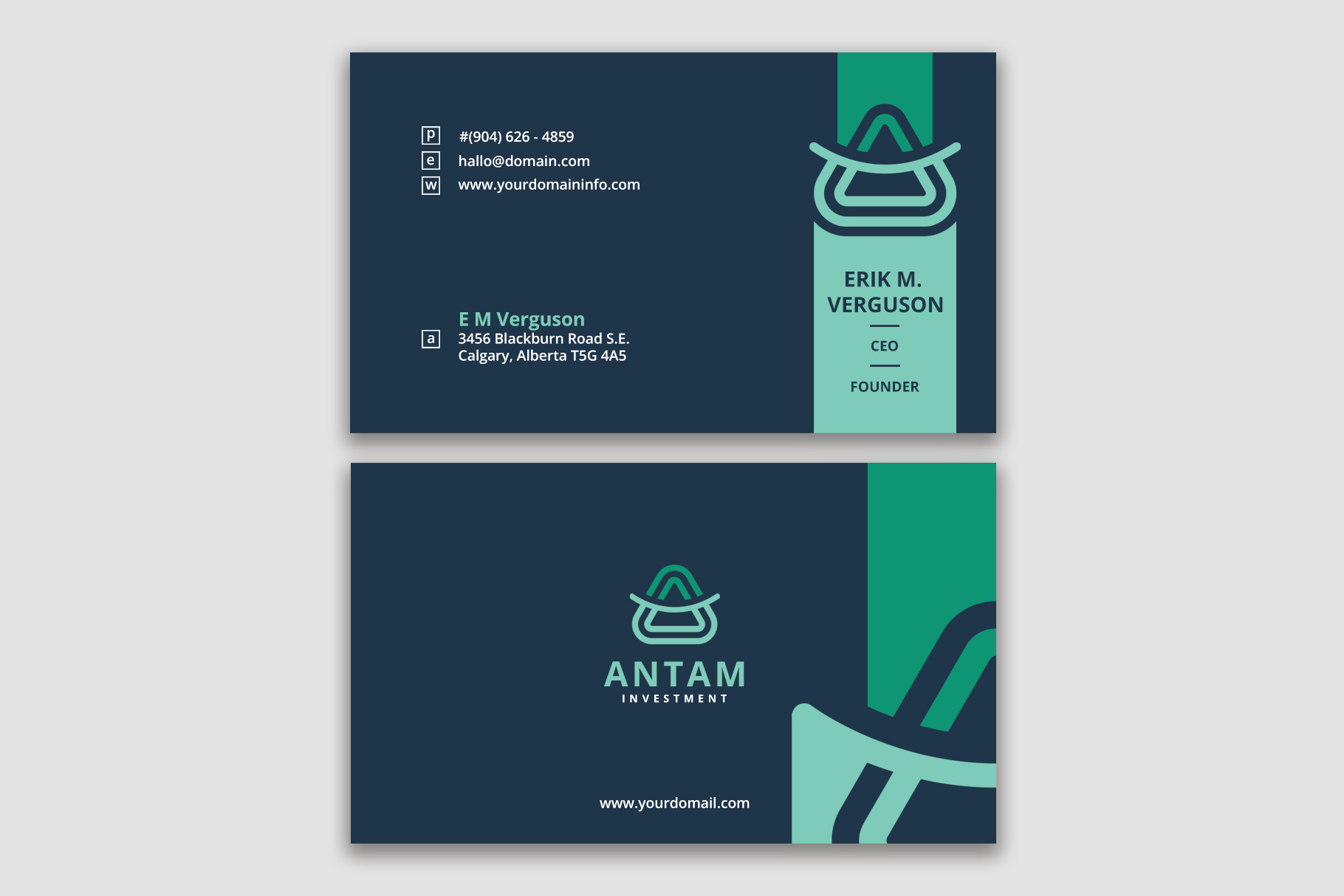 Smart Business Card Template example image 1