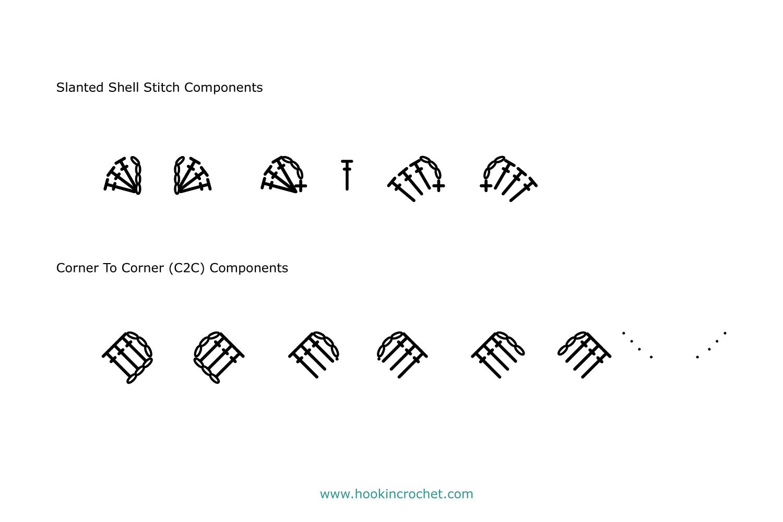 HookinCrochet Symbols 2 Font Software example image 8
