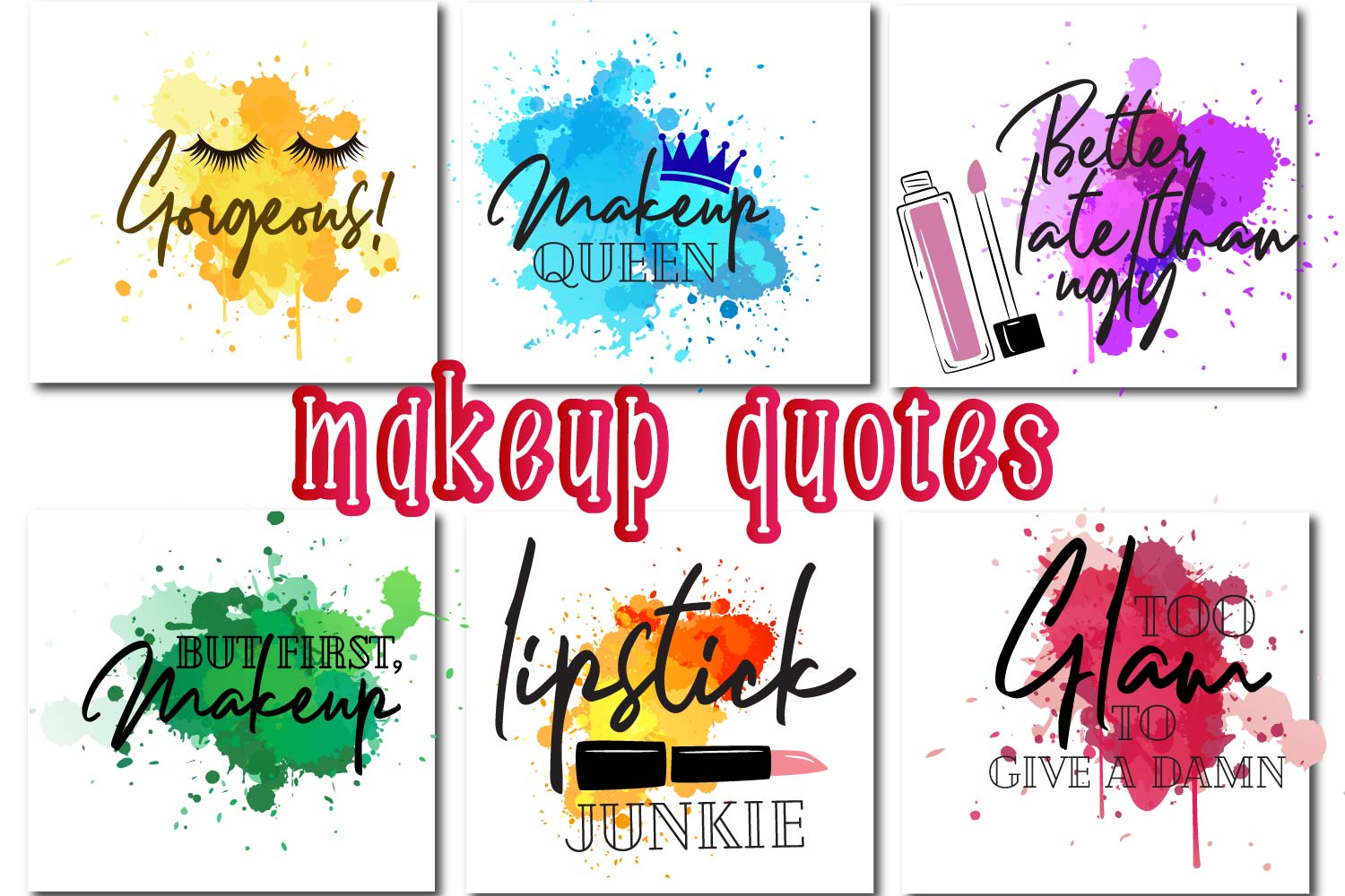 Makeup paint splash Quotes example image 3