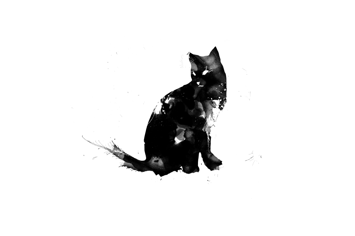 20 Illustration abstract Cats example image 6