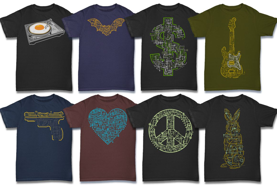 103 Tshirt Designs Mega Bundle example image 5