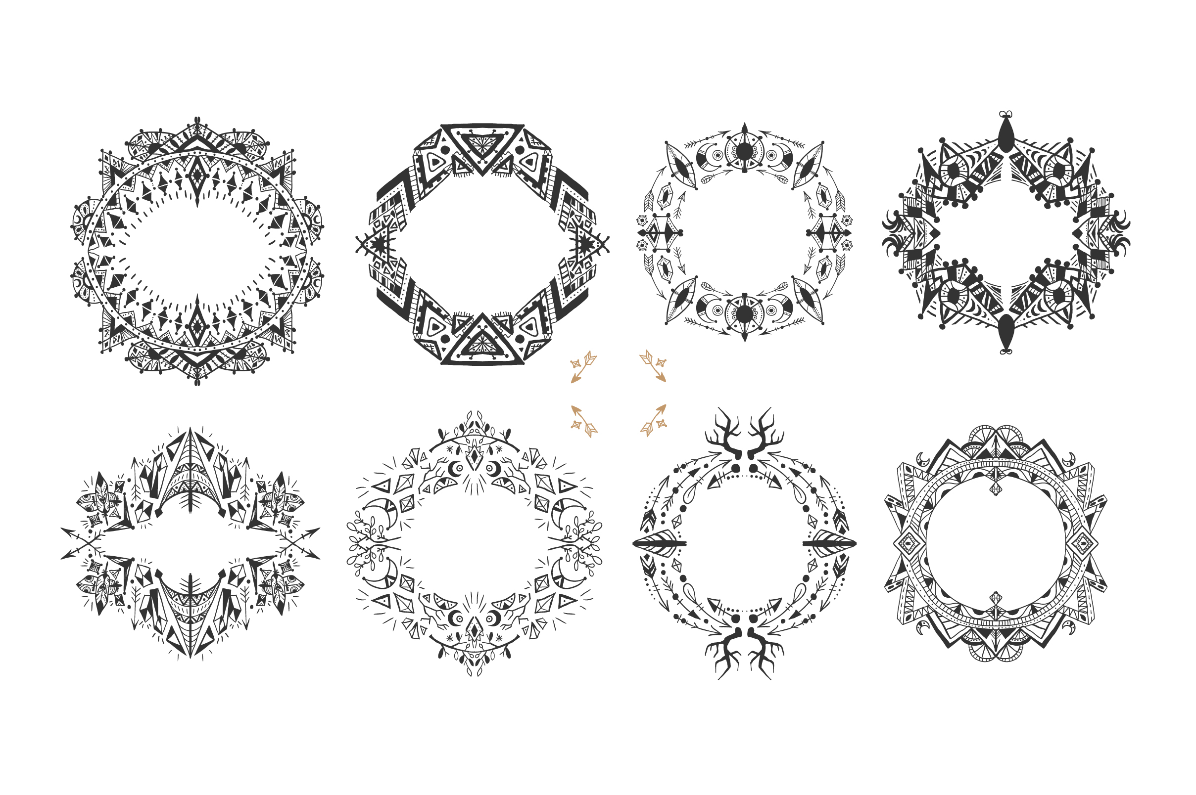 16 frames in ethnic style example image 3