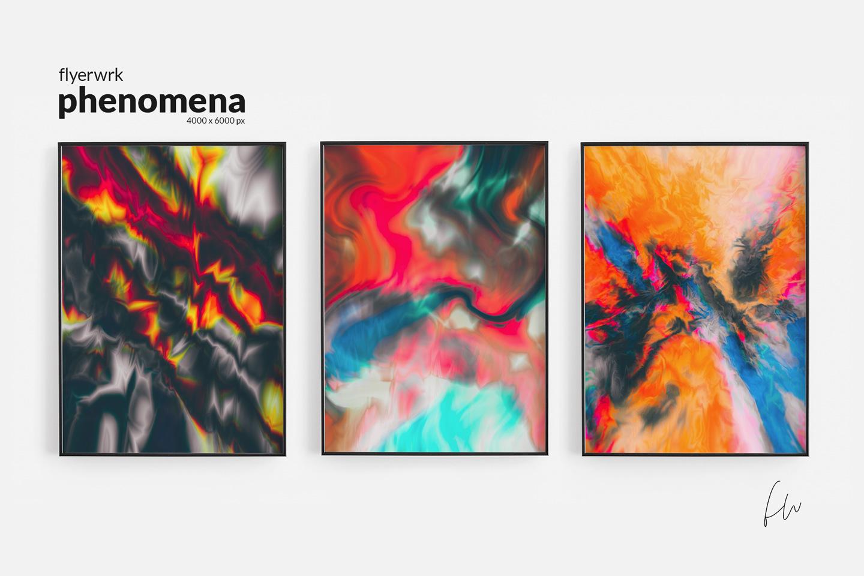 Phenomena - 32 Psychedelic Textures example image 7