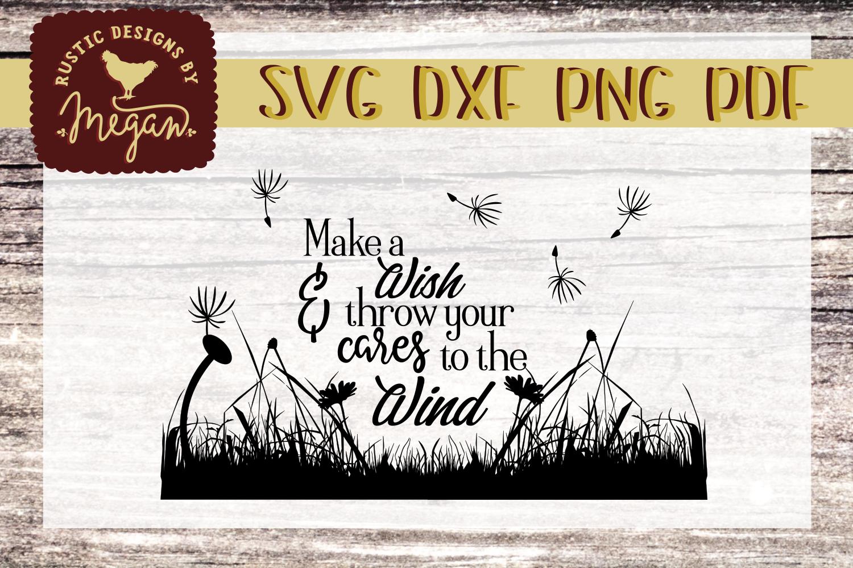 Make A Wish Inspirational SVG cut file example image 2